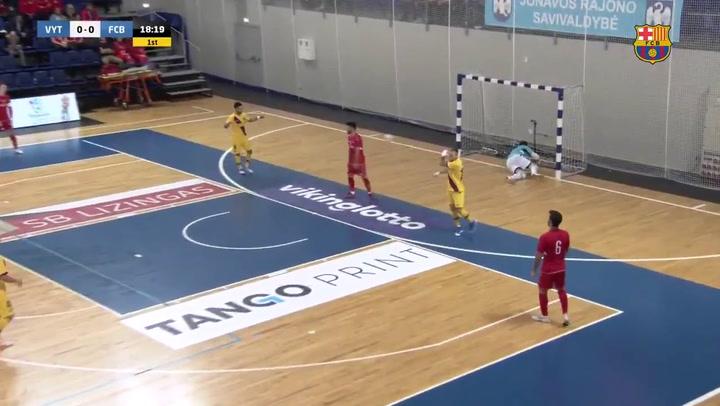 Resumen del Vytis-0, Barça-8