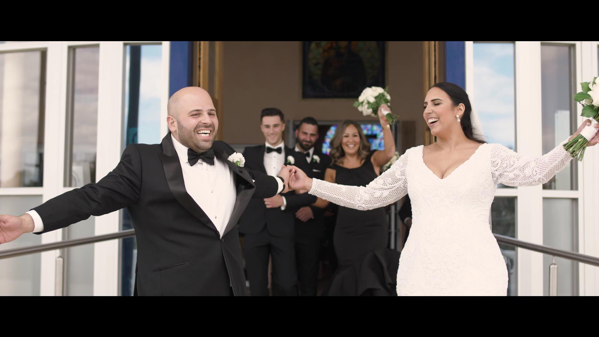 Rhiannon + Youssef | Melbourne, Australia | White Night Receptions