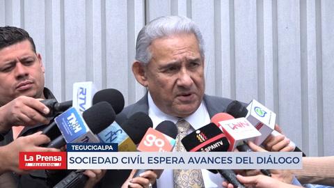 Sociedad civíl espera avances del diálogo nacional