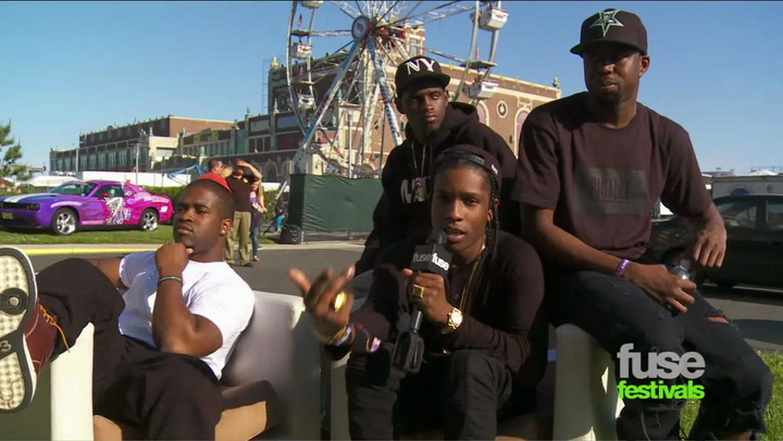 Festivals:Bamboozle: A$AP at Bamboozled Promo