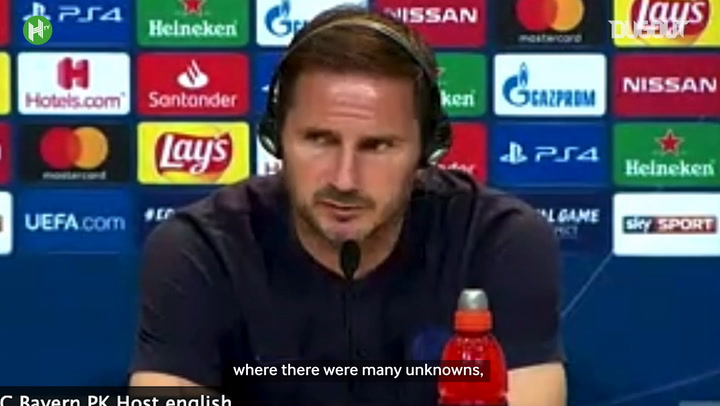 Lampard assesses his first season in charge of Chelsea