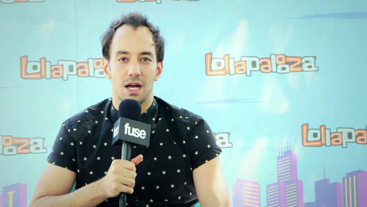 Lollapalooza 2015: Albert Hammond Jr. Explains Bizarre Intro on His New Single