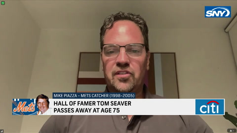 Mets great Mike Piazza discusses the life and career of Tom Seaver