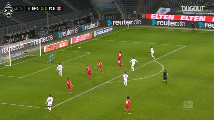 Neuhaus' fine curling effort sinks Bayern