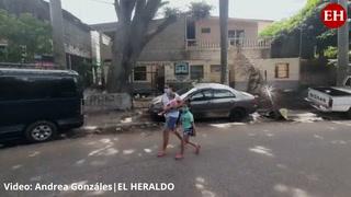 Denuncia: Una posta policial abandonada en la colonia Centroamérica Oeste, en la zona 1