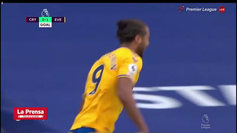 Crystal Palace 1 - 2 Everton (Premier League)