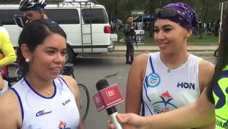 Silvia y Daniela comparten su experiencia de la 7ma Vuelta Ciclística