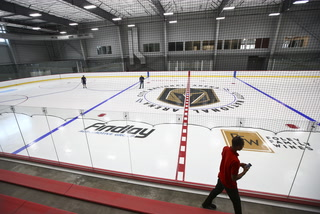 Vegas Golden Knights practice facility almost complete