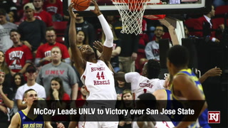 UNLV pours in strong effort in win over San Jose State