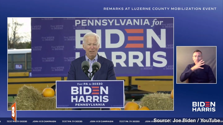 Disturbing Joe Biden Brain Freeze Caught at PA Rally:
