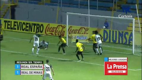 Real España 3-1 Real de Minas (Liga Nacional)