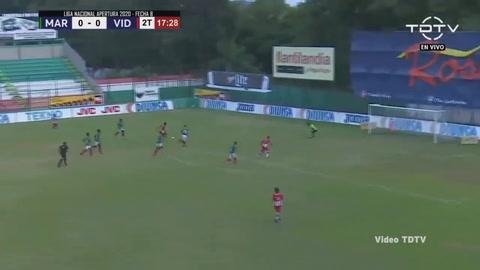 Marathón 0-2 Vida (Liga Salva Vida 2020)