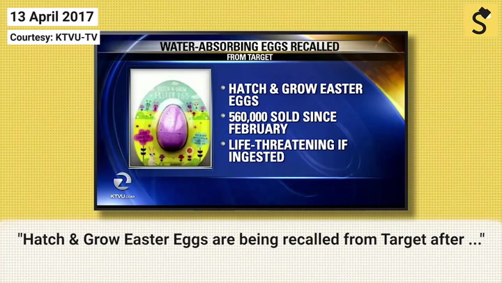 Fact check did target issue an easter egg recall a questionable undated blog reported the recall as fresh ignoring the fact that it was issued in 2017 negle Choice Image