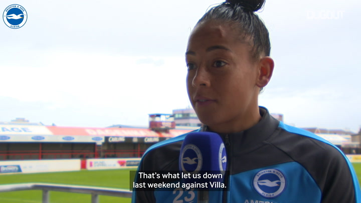 Rianna Jarrett looking for better Brighton consistency