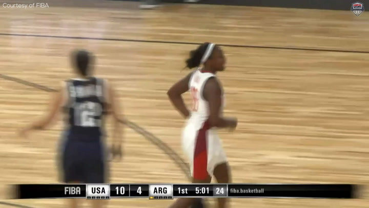 Highlights: USA 91, Argentina 34