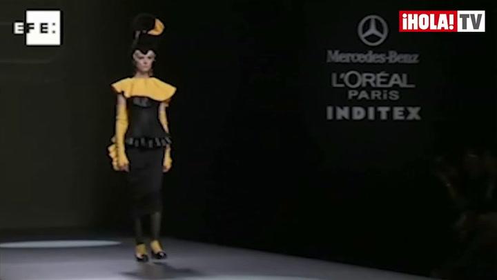 Fashion Week Madrid Otoño-Invierno 2013-14: María Barros