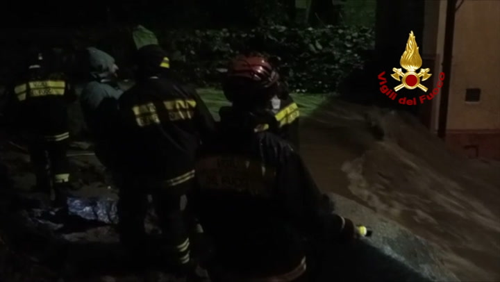 Town hit hard with flooding in Italy