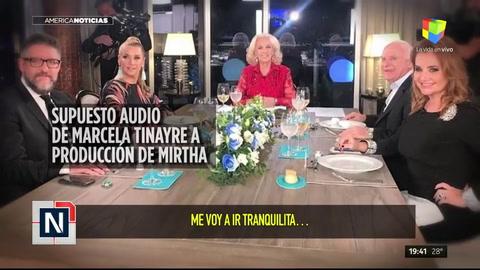Los escandalosos audios de Marcela Tinayre