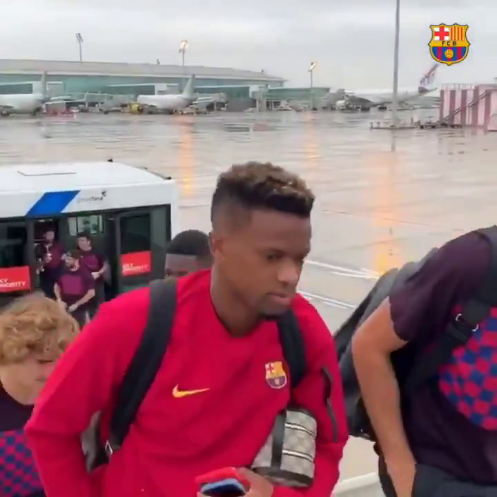 El Barça ya vuela hacia Bilbao