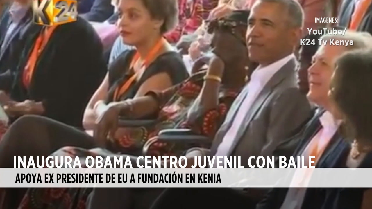 Video: Baila Obama en inauguración