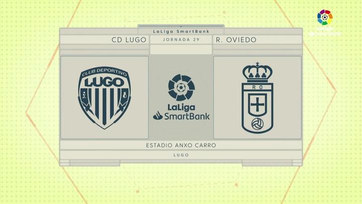 Resumen del CD Lugo 1-0 Real Oviedo
