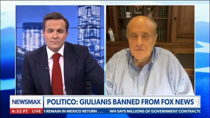Rudy Giuliani on Newsmax TV, 9/24/2021