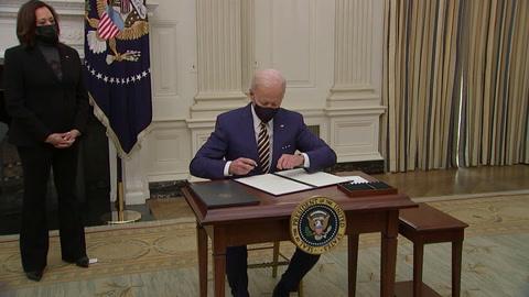 Biden advierte que covid puede dejar 600.000 muertos en EEUU y urge aprobar plan de rescate