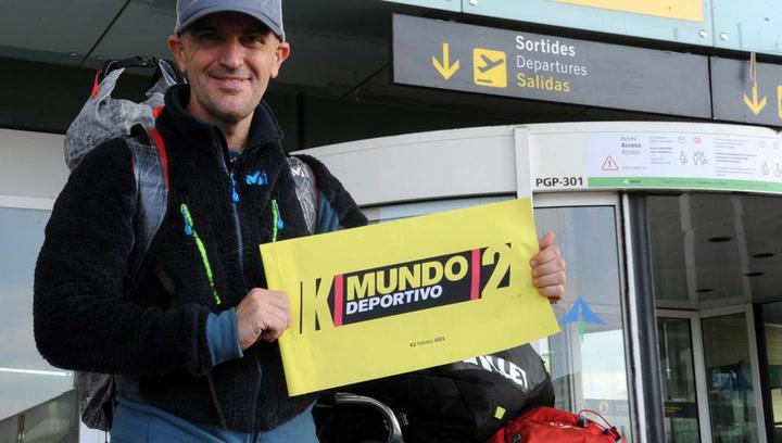 Sergi Mingote parte de Barcelona a la conquista invernal del K2