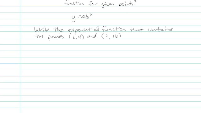 Exponential Functions and their Graphs - Problem 8