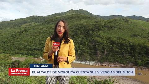 20 años del huracán Mitch: alcalde de Morolica cuenta su historia