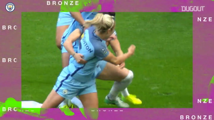 Lucy Bronze's best moments from first spell at Manchester City
