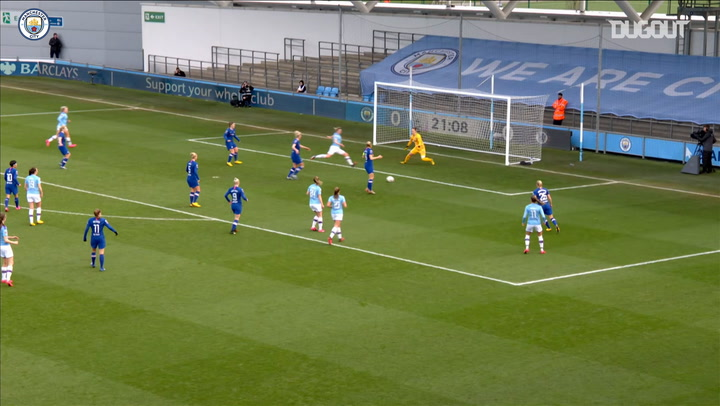 Manchester City Women and Chelsea Women share the spoils in six-goal thriller