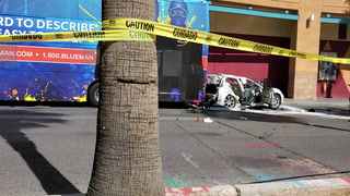 Crash closes Las Vegas Blvd. near Fremont Street