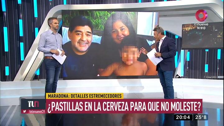 """Griselda Morel: """"A Maradona le ponían pastillas en la cerveza para que no joda la noche"""""""
