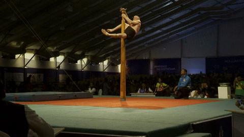 Yoga en las alturas en primer Mundial de