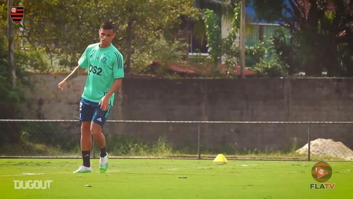 Flamengo continue training before Boavista clash