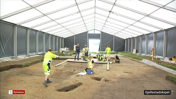 Gjellestadskipet, vikingskip, Gjellestad, arkeologer, historisk funn, graving