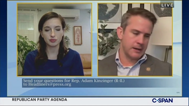 Kinzinger: Kevin McCarthy Should've Had His Leadership Challenged After Jan. 6