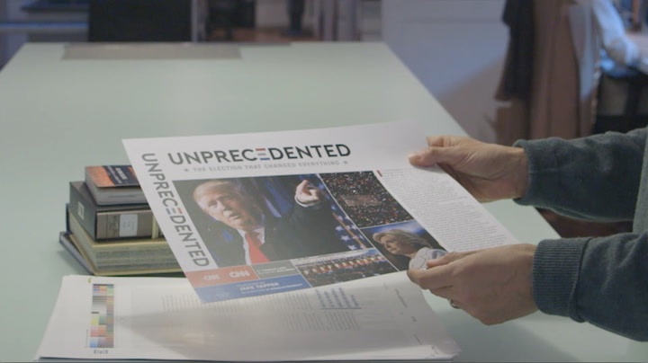 CNN and Melcher Media's Unprecedented Book on an Unprecedented Election
