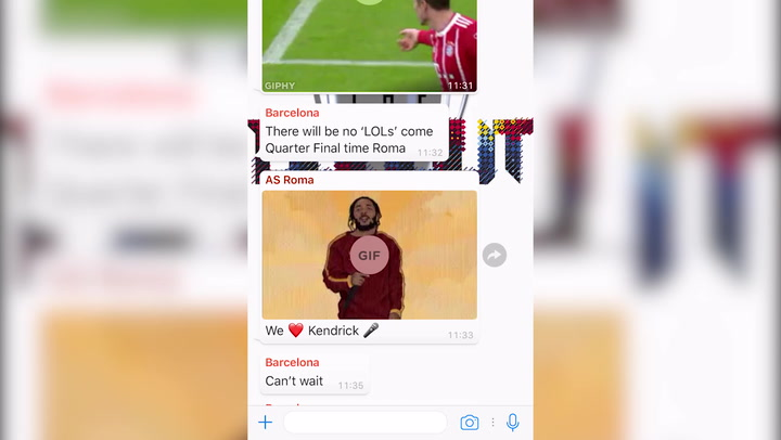 REVEALED: UCL Last 8 Clubs in WhatsApp Chat