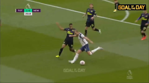 Tottenham 1-1 Newcastle (Premier League 2020)