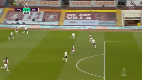 Aston Villa 1-2 Manchester City (Premier League)