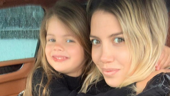 La hija de Wanda Nara y Mauro Icardi manda un mensaje de apoyo a sus compañeros de guardería en Milán
