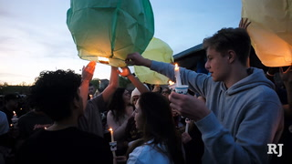 Balloon release in memory of 3 Las Vegas teens killed in Huntington Beach crash
