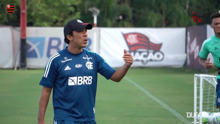 Flamengo keep training ahead of Internacional clash at Maracanã