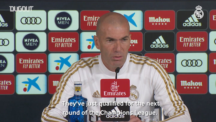 Zidane: 'The Valencia game is another challenge for us to keep progressing'