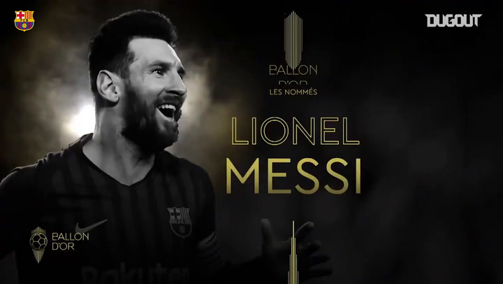 Four FC Barcelona players on 2019 Ballon d'Or shortlist