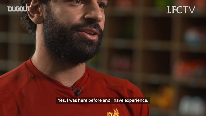 Salah's first ever interview as a Liverpool player