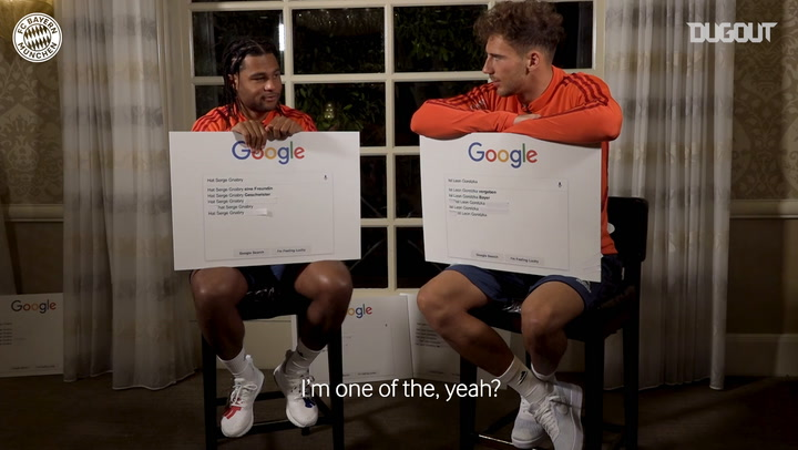 Google Autocomplete Challenge with Goretzka and Gnabry