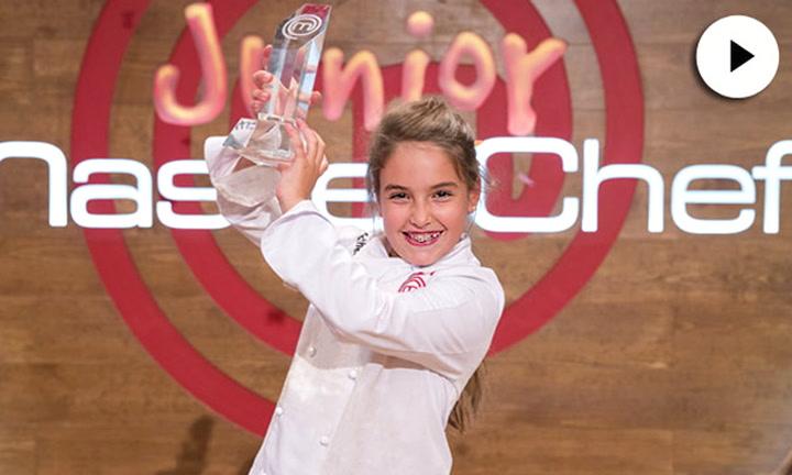 El precioso motivo por el que Esther quiso dedicar a su hermana su triunfo en MasterChef Junior